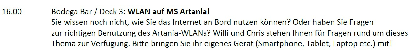 WLAN-Workshop